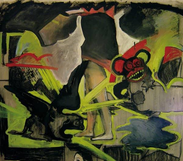 De la serie -Pinturas Falleras-, Valencia, 2007.